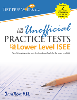 Front cover of test prep book