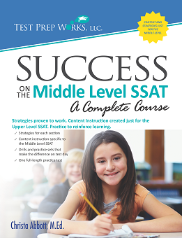 Front cover of Success on the Middle Level SSAT