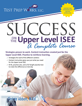 Front cover of Success on the Upper Level ISEE